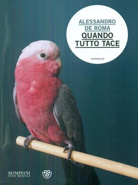 Quando tutto tace - Alessandro De Roma - copertina