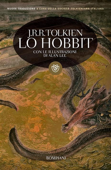 Lo Hobbit. Un viaggio inaspettato - John R. R. Tolkien - copertina