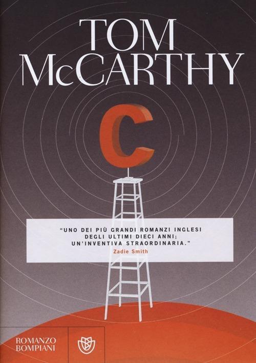 C - Tom McCarthy - copertina