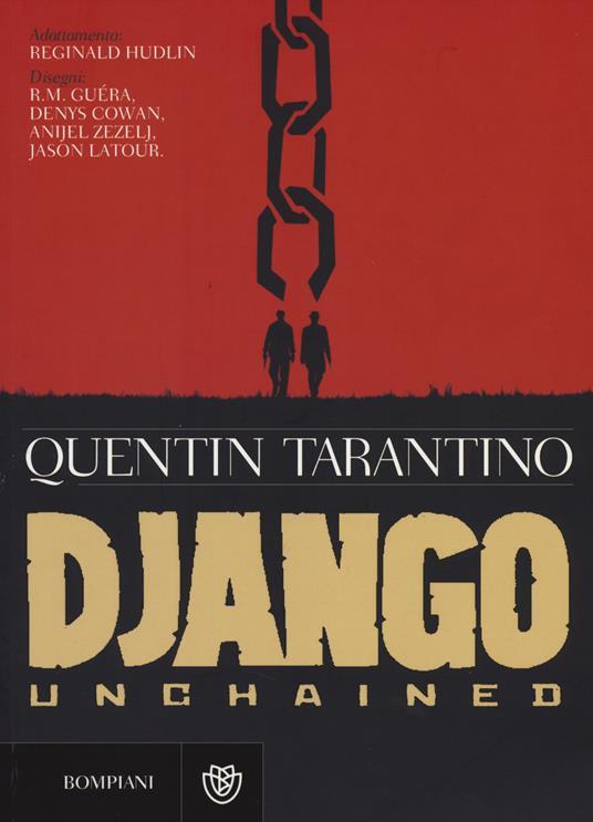 Django Unchained - Quentin Tarantino - copertina