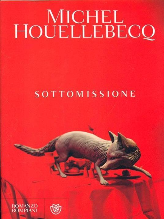 Sottomissione - Michel Houellebecq - copertina