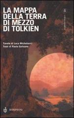 La mappa della Terra di mezzo di Tolkien
