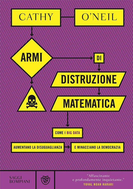 Armi di distruzione matematica. Come i big data aumentano la disuguaglianza e minacciano la democrazia - Cathy O'Neil - copertina