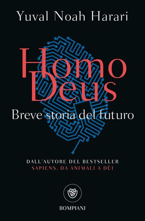 Homo deus. Breve storia del futuro - Yuval Noah Harari - copertina