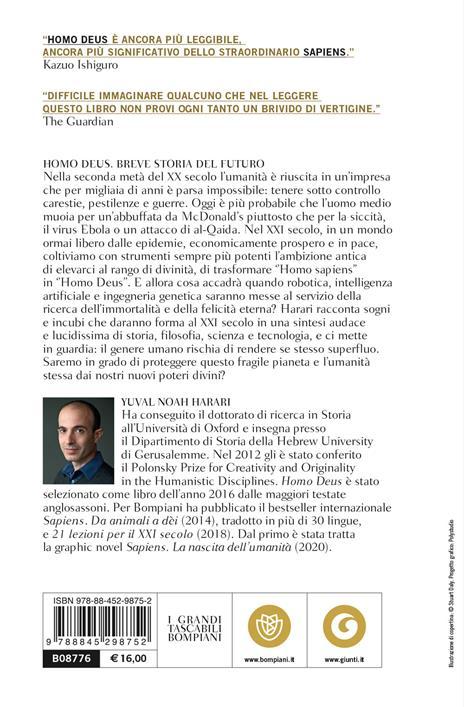Homo deus. Breve storia del futuro - Yuval Noah Harari - 3