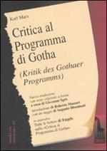 Critica del programma di Gotha. Testo tedesco a fronte