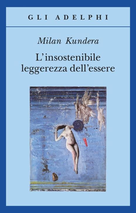 L' insostenibile leggerezza dell'essere - Milan Kundera - copertina