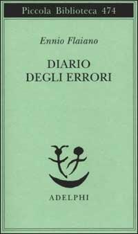 Diario degli errori - Ennio Flaiano - copertina