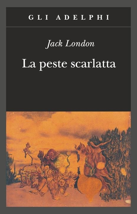 La peste scarlatta - Jack London - copertina