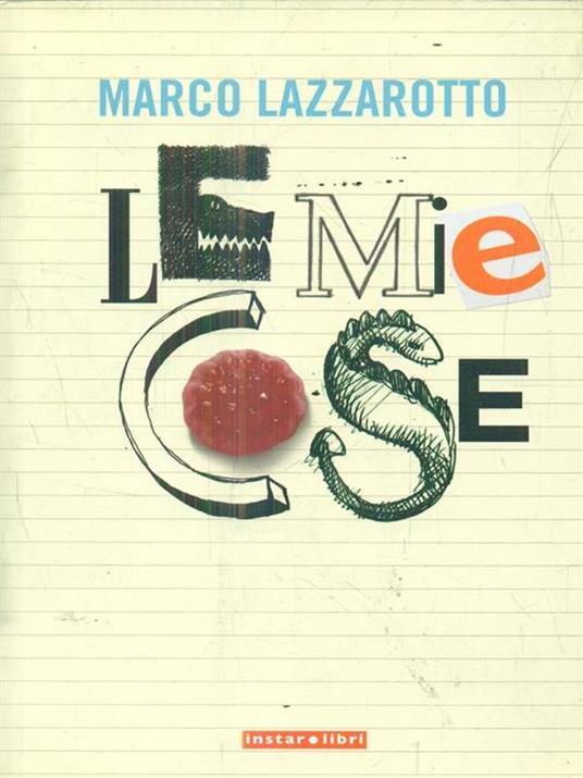 Le mie cose - Marco Lazzarotto - copertina
