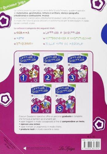 Lettura e scrittura. Per la 1ª classe elementare - Elena Costa,Lilli Doniselli,Alba Taino - 2
