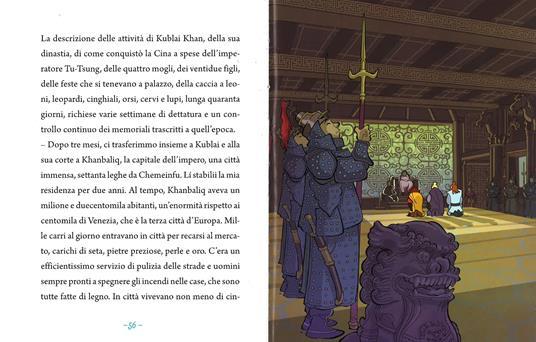 Marco Polo, scopritore di meraviglie. Ediz. illustrata - Guido Sgardoli - 4