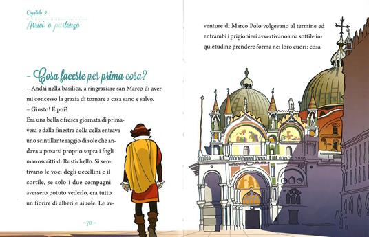 Marco Polo, scopritore di meraviglie. Ediz. illustrata - Guido Sgardoli - 5