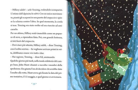 La scalata dell'Everest. Ediz. a colori - Pierdomenico Baccalario - 3
