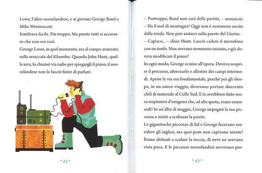 La scalata dell'Everest. Ediz. a colori - Pierdomenico Baccalario - 4