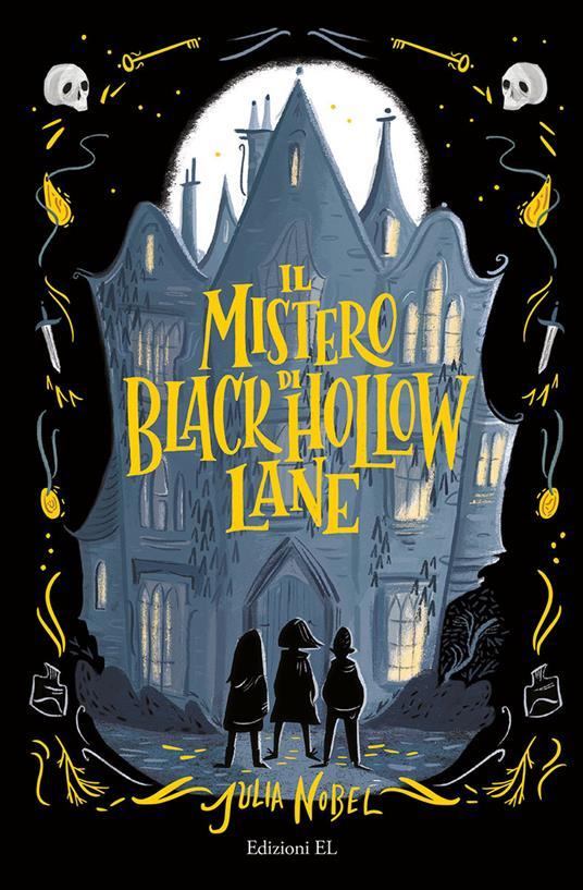 Il mistero di Black Hollow Lane - Julia Nobel - copertina