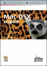 Mac OS X Leopard - David Pogue - copertina