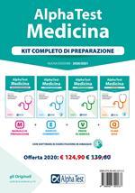 Alpha Test. Medicina. Kit completo di preparazione: Manuale di preparazione-Esercizi commentati-Prove di verifica-10.000 quiz. Con software di simulazione