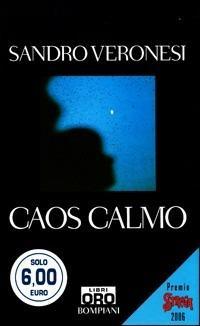 Caos calmo - Sandro Veronesi - copertina