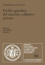Profilo giuridico del marchio colletivo privato