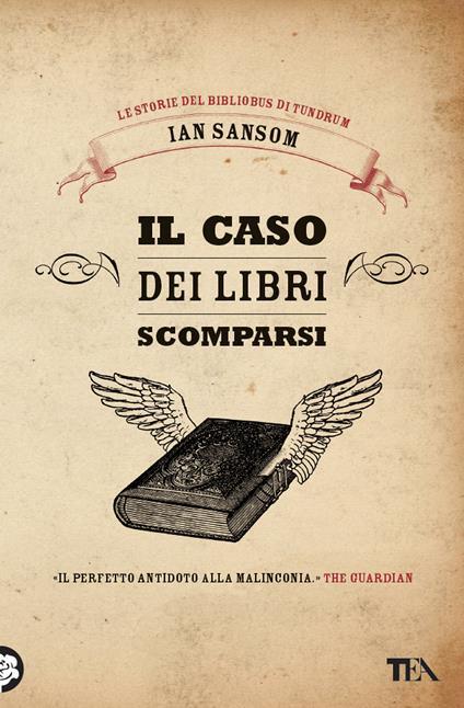 Il caso dei libri scomparsi. Le storie del Bibliobus di Tundrum - Ian Sansom - copertina