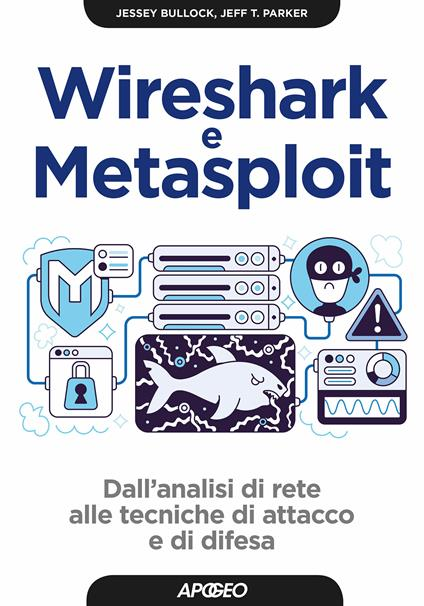 Wireshark e Metasploit. Dall'analisi di rete alle tecniche di attacco e di difesa - Virgilio B. Sala,Jessey Bullock,Jeff T. Parker - ebook