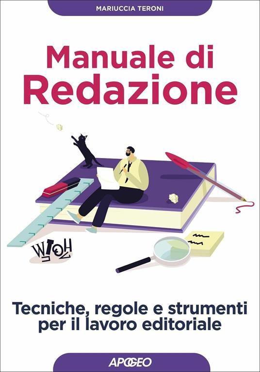 Manuale di redazione - Mariuccia Teroni - copertina