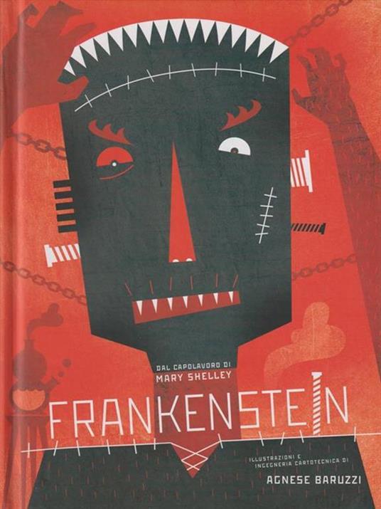 Frankenstein. Ediz. illustrata - Agnese Baruzzi,Mary Shelley - copertina