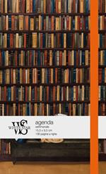 Agenda White Star 2021, 12 mesi In libreria - 15,5x9,5 cm