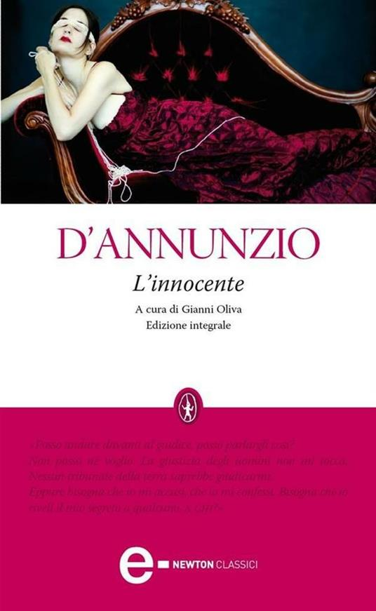 L' Innocente. Ediz. integrale - Gabriele D'Annunzio,Gianni Oliva - ebook