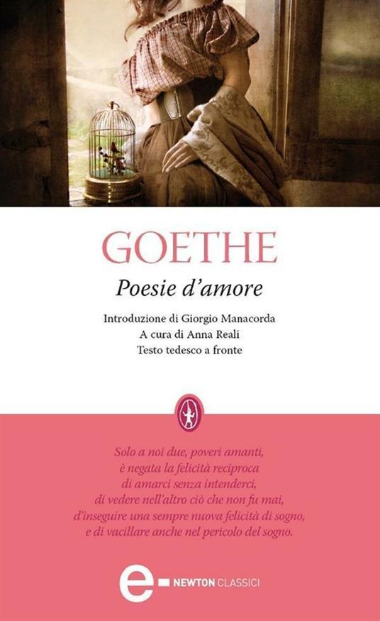 Poesie d'amore - Johann Wolfgang Goethe,Anna Reali - ebook