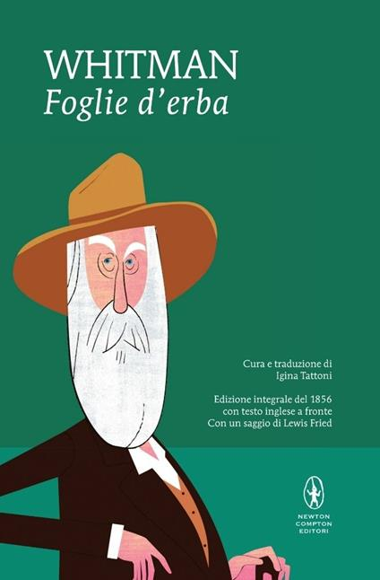 Foglie d'erba. Testo inglese a fronte. Ediz. integrale - Walt Whitman - copertina