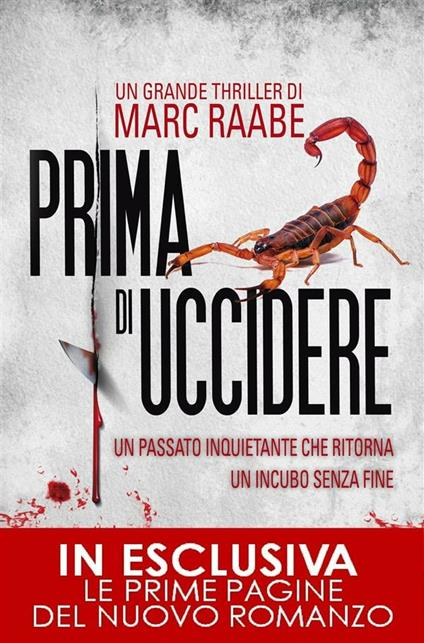 Prima di uccidere - Marc Raabe,A. Ricci - ebook