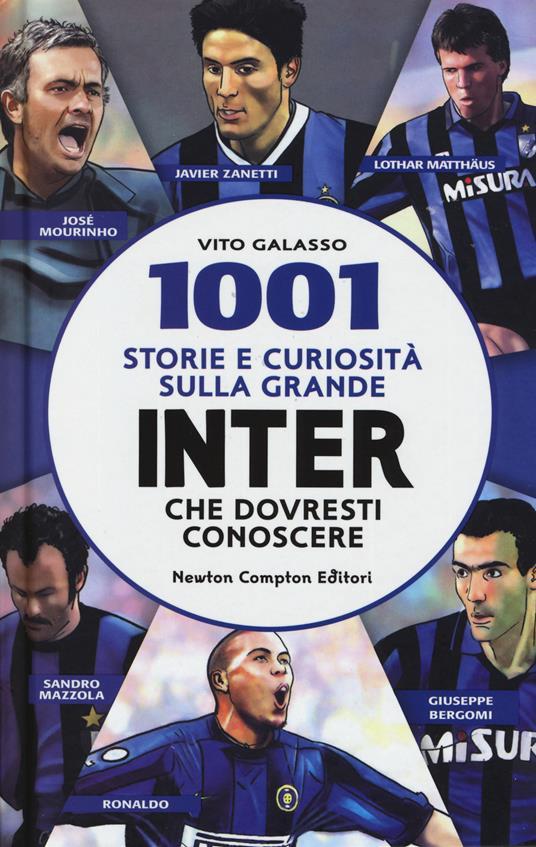 1001 storie e curiosità sulla grande Inter che dovresti conoscere - Vito Galasso - copertina