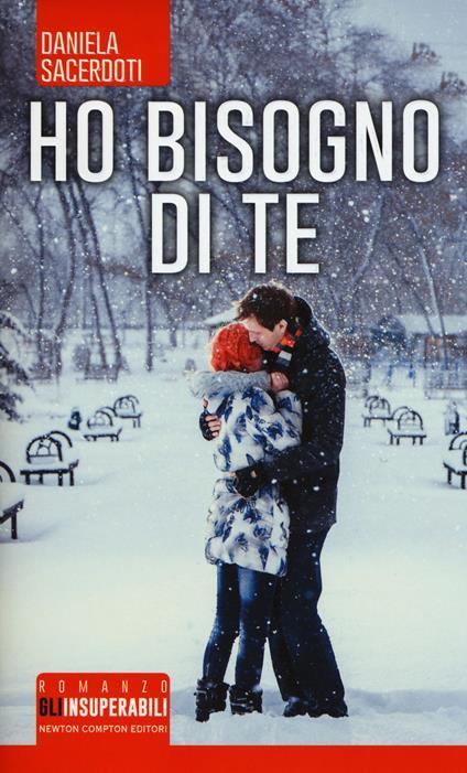 Ho bisogno di te - Daniela Sacerdoti - copertina