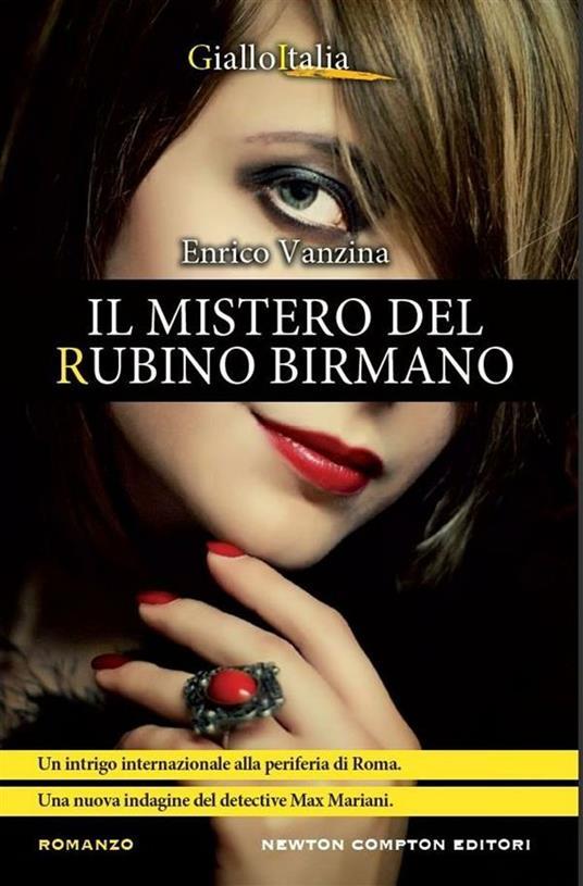Il mistero del rubino birmano - Enrico Vanzina - ebook