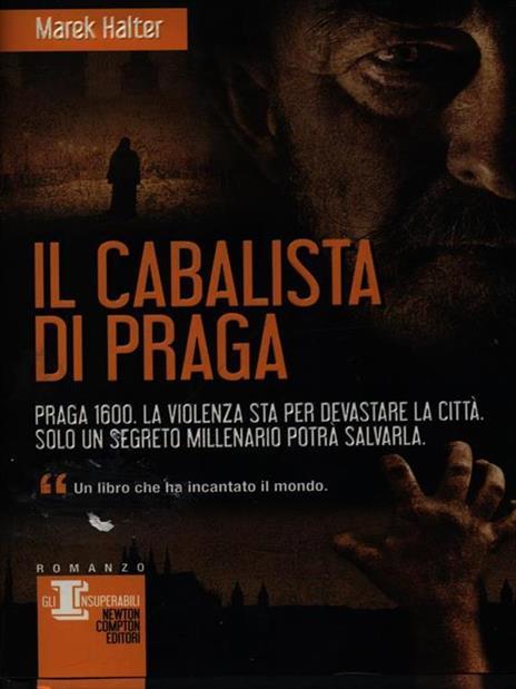 Il cabalista di Praga - Marek Halter - copertina