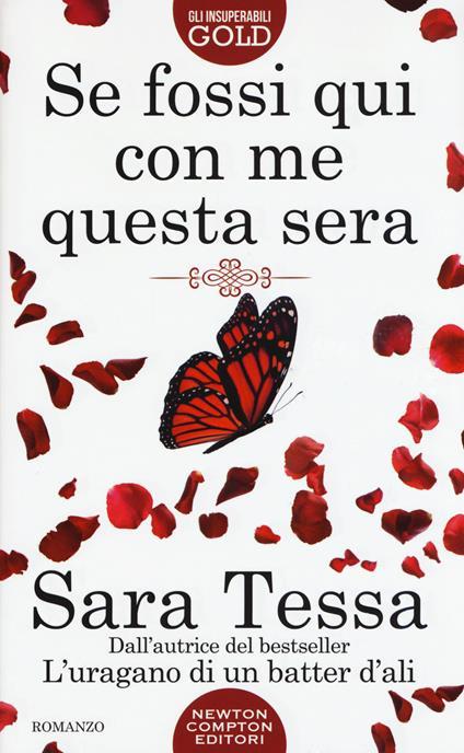 Se fossi qui con me questa sera - Sara Tessa - copertina