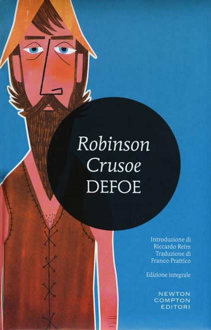 Robinson Crusoe. Ediz. integrale - Daniel Defoe - copertina
