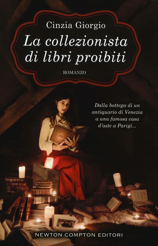 La collezionista di libri proibiti - Cinzia Giorgio - copertina
