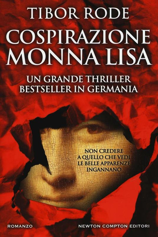 Cospirazione Monna Lisa - Tibor Rode - copertina