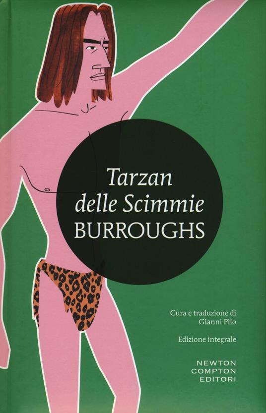 Tarzan delle scimmie. Ediz. integrale - Edgar R. Burroughs - copertina