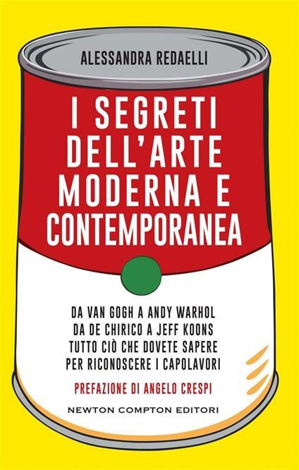 I segreti dell'arte moderna e contemporanea. Da Van Gogh a Andy Warhol da De Chirico a Jeff Koons tutto ciò che dovete sapere per riconoscere i capolavori - Alessandra Redaelli - ebook