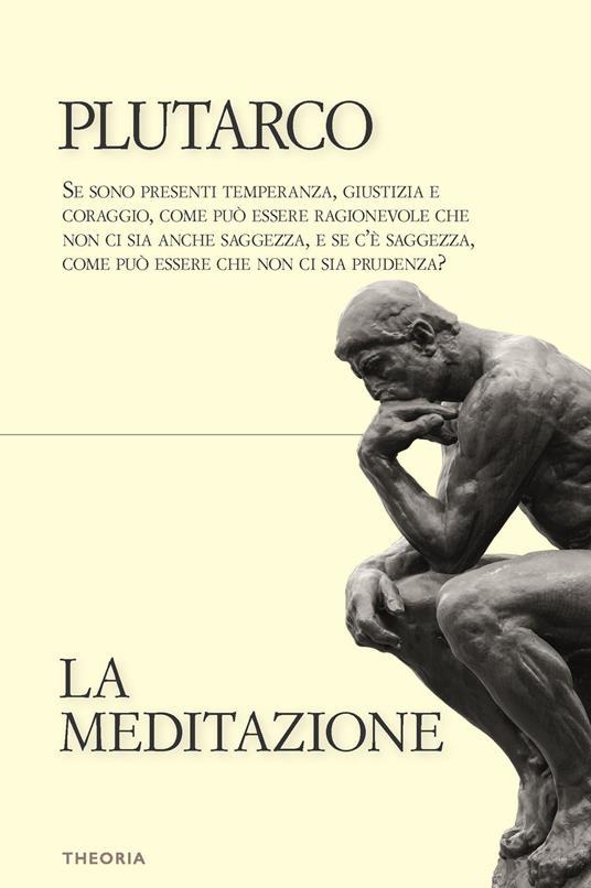 La meditazione - Plutarco - copertina