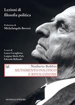 Mutamento politico e rivoluzione. Lezioni di filosofia politica