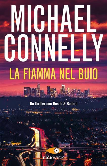 La fiamma nel buio - Michael Connelly - copertina