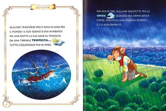 I viaggi di Gulliver. Con App per tablet e smartphone. Ediz. illustrata - Geronimo Stilton - 2