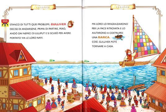 I viaggi di Gulliver. Con App per tablet e smartphone. Ediz. illustrata - Geronimo Stilton - 5