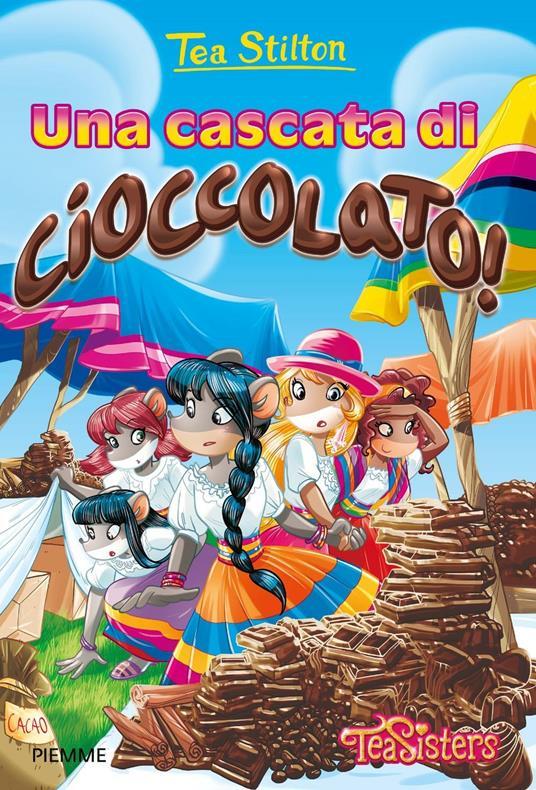 Una cascata di cioccolato! Ediz. illustrata - Tea Stilton - copertina