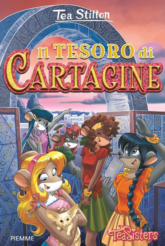 Il tesoro di Cartagine - Tea Stilton - copertina